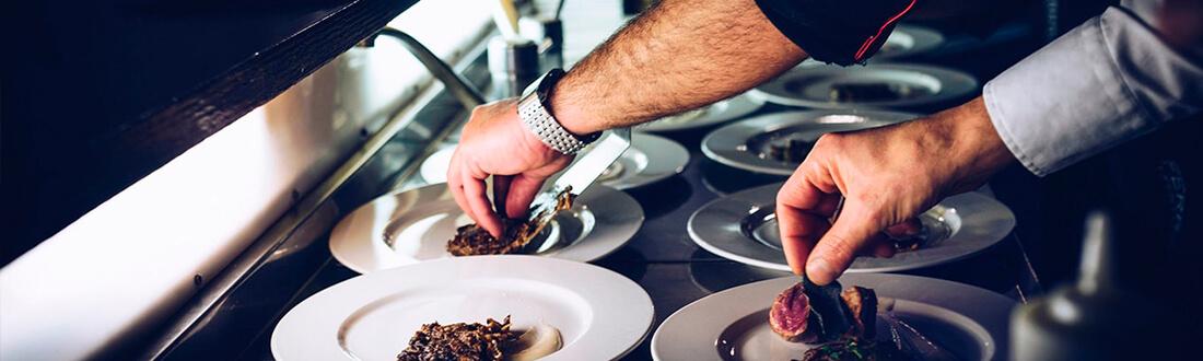 Chef privado trabajando
