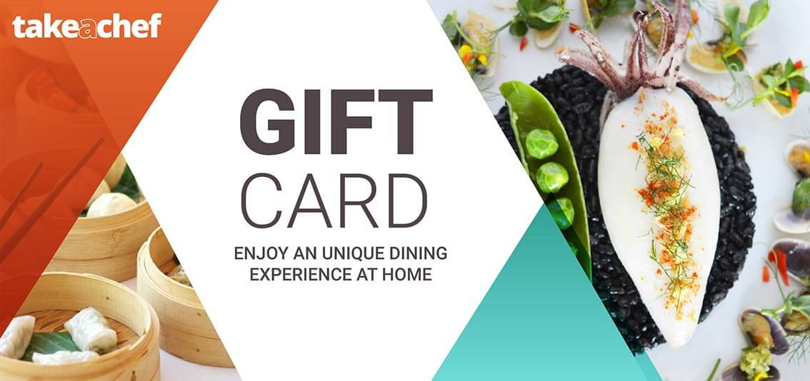 Gift card summary Take a Chef