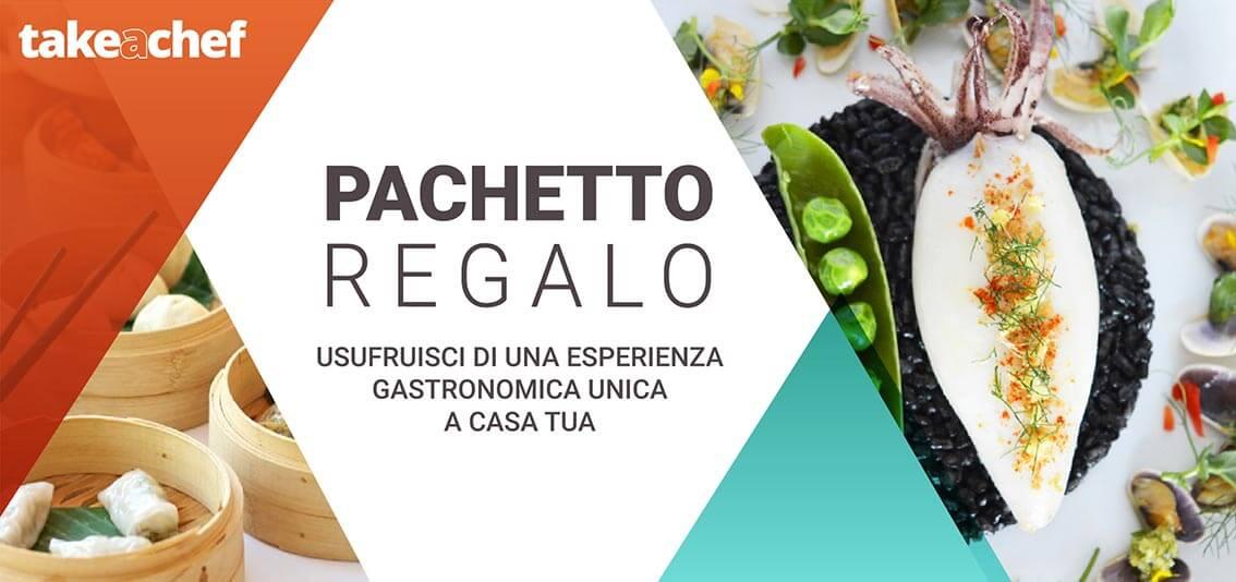 Riepilogo regala Take a Chef header