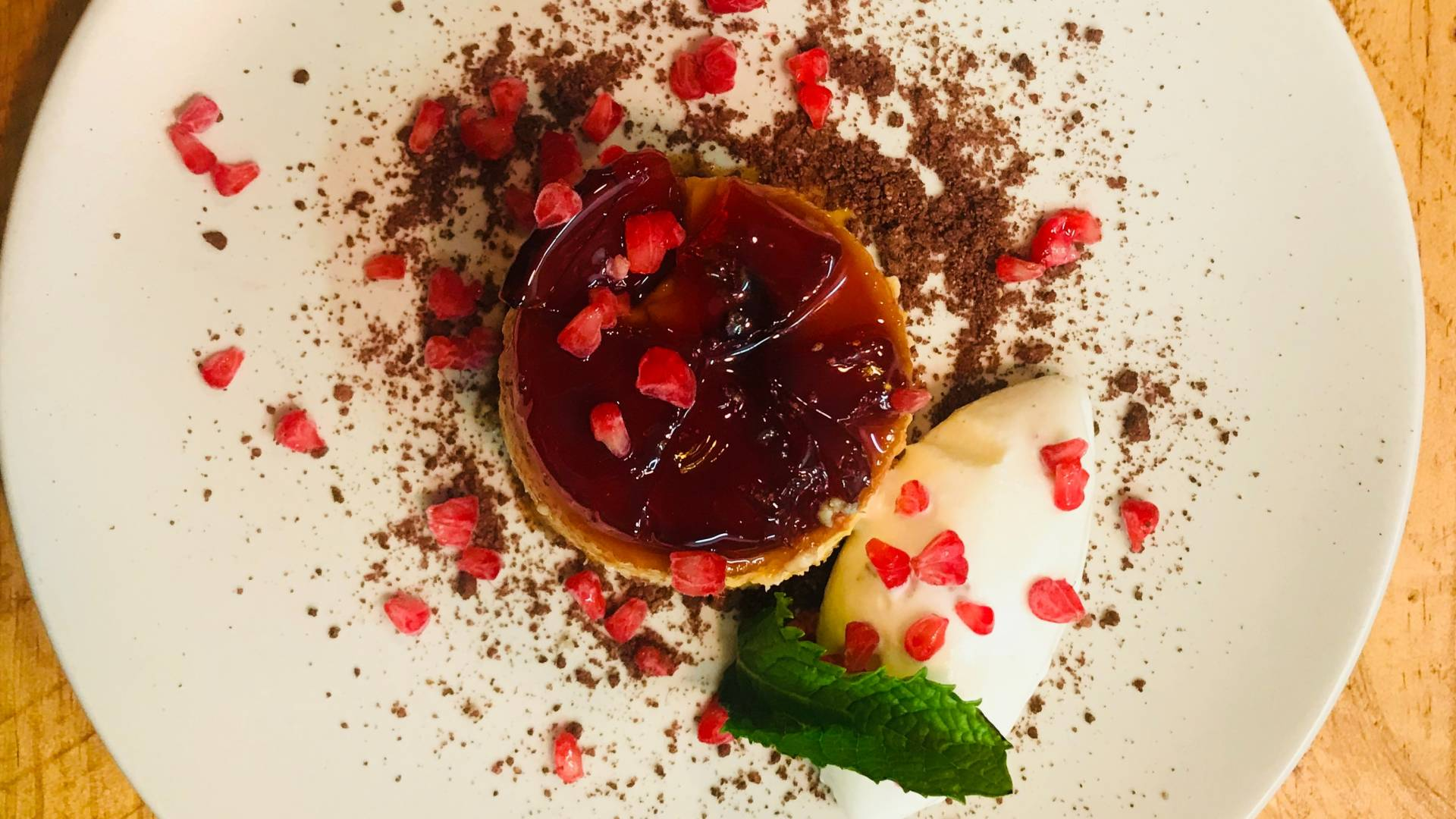 Dessert CocoCaramel