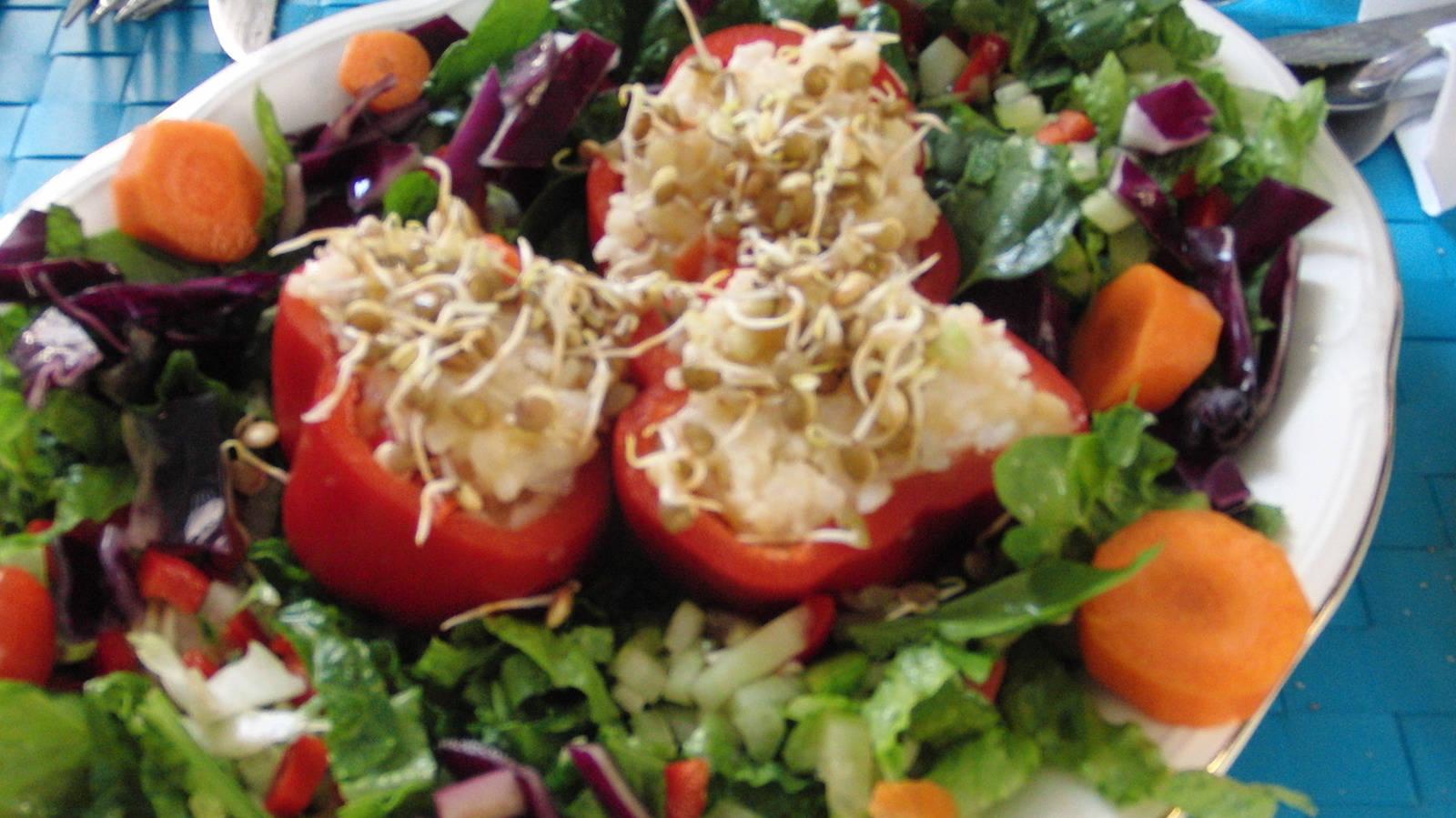 Rica y linda salad