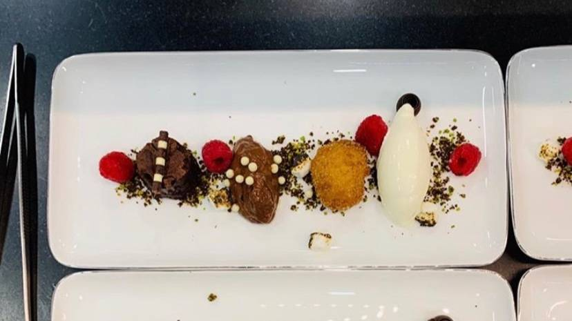 Assiette of chocolate
