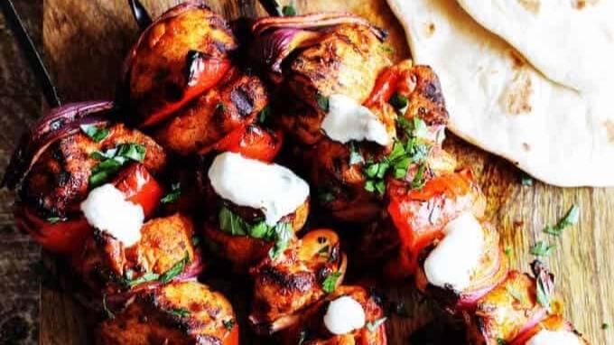 Mediterranean Chicken Kebabs 1