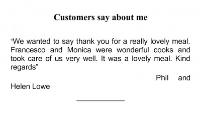 Customers say about me 000