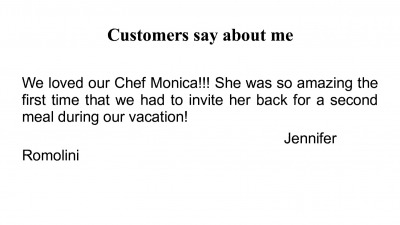 Customers say about me