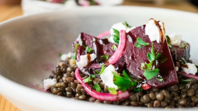 GREEK LENTIL SALAD WITH ROASTED BEETROOT 5