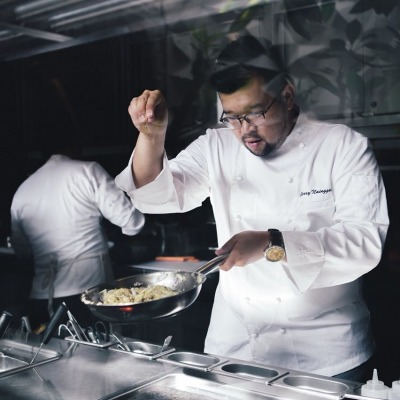 Chef Gerry Nainggolan