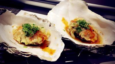 Ostras tempura
