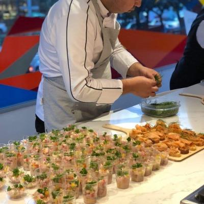 Photo from Chef Diego Vasquez Urra