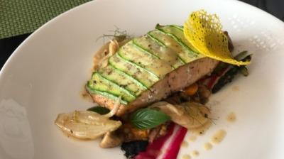 Filete de Salmon BerrueBlanc #1