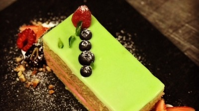 Pastel de Matcha #1