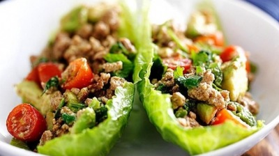 Veg lettuce wraps