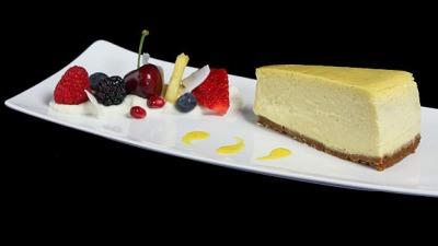 Cheesecake with Mango