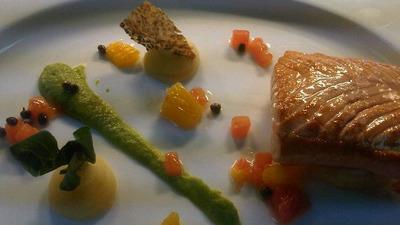 Salmon hilton
