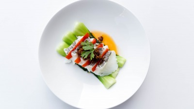 Steamed Chilean seabass XO sauce 1