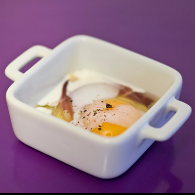 Huevo en coccotte