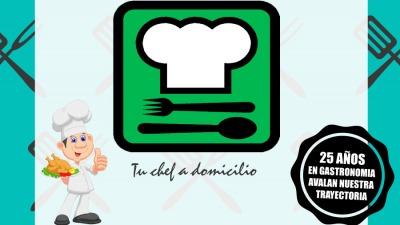 Plantilla tu chef a domicilio nueva