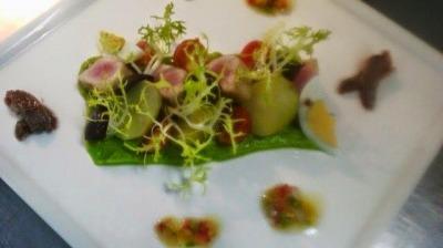 Salade nicoise gastro