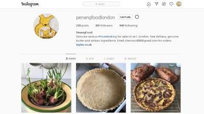 Screenshot 2020 04 25 PenangFood ( penangfoodlondon) profile on Instagram • 238 posts