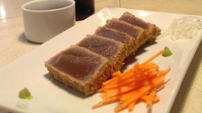 Tataky de atún rojo