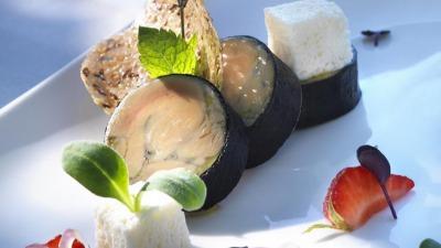 Foie gras menthe fruits rouges menu été 2016