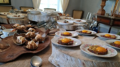 Display mesa degustación
