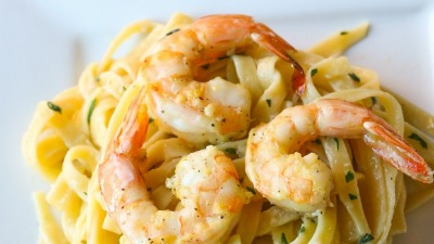 Lemon Shrimp Scampi Pasta 3