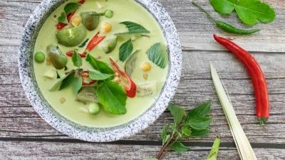 Thai Green Curry 5