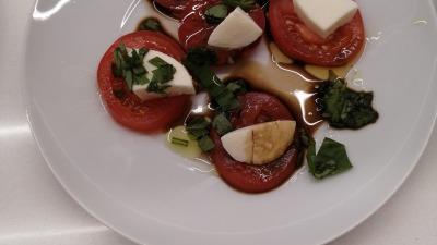 Caprese Salad plate
