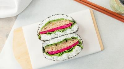 Allyouneedisveg Vegan Chef Yuki Jung Onigirazu Sushi Maki