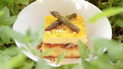 Allyouneedisveg Vegan Retreat Chef Yuki Jung Polenta Lasagne