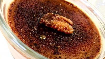 Vanilla coffee creme brulle
