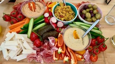 Mezzi Platter Food