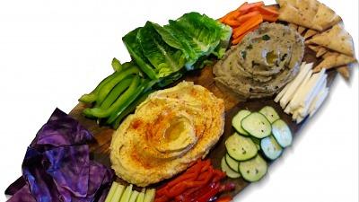Hummus board