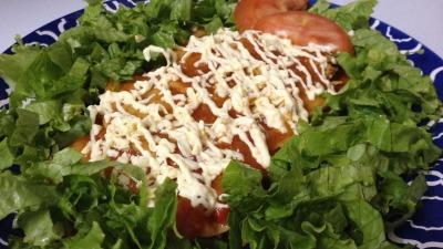 Nchiladas menu