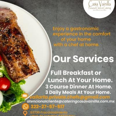 Foto de Catering Casa Vainilla