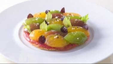 Tarte fine aux tomates oublier