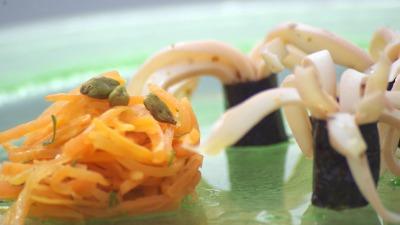 Sepia zanahorias