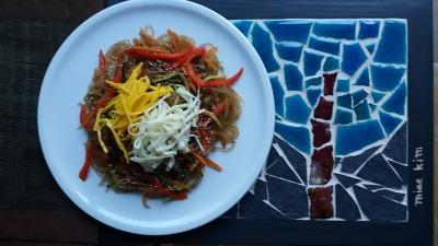 Spaghetti alla coreana