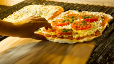 Pizza pala rápida