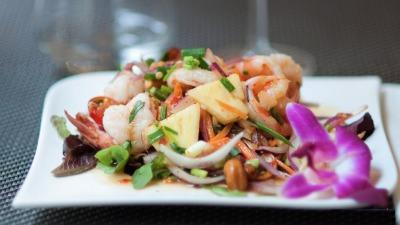 Salad sea food