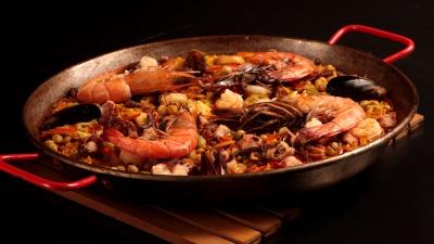 Paella mixta foto claudia