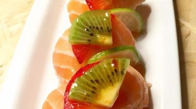 Niguiris fruit