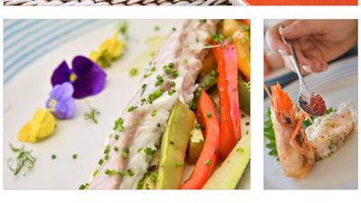 Collage mediterranen food