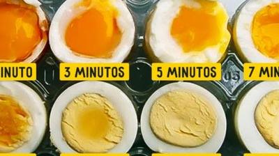 Omo cocer un huevo