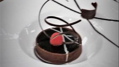Chocolate tart art 2