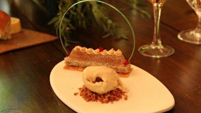 Iamond dessert