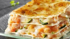 Recette lasagne courgettes et crevettes