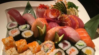 Sushi sashimimoriawase Yusuke Sasaki