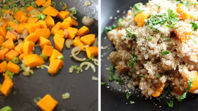 Ollage pumpkin risotto